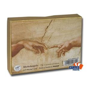 CARTES DE JEU Coffret Michelangelo - 2 jeux de 52 cartes