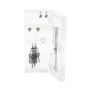 Présentoir bijoux Porte bijoux vertical 21,2x2x 28,3 cm