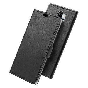 HOUSSE - ÉTUI SLEO Housse -Xiaomi Redmi Note 8 Pro- Etui PU Cuir
