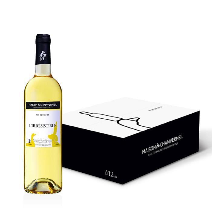 L'Irresistible Moelleux - Vin BLANC - Voluptueux, frais et gourmand - 9L
