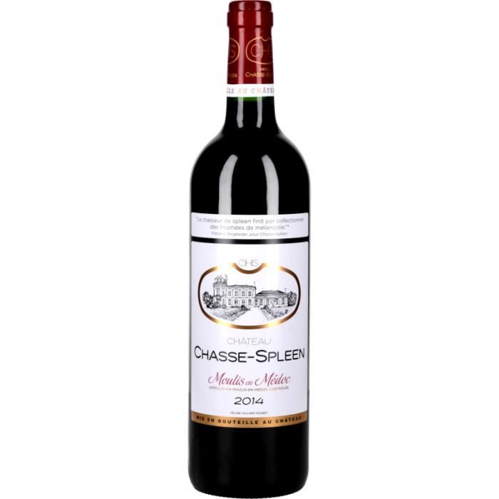 Vin Rouge - Château Chasse-Spleen 2014 - Bouteille 75cl