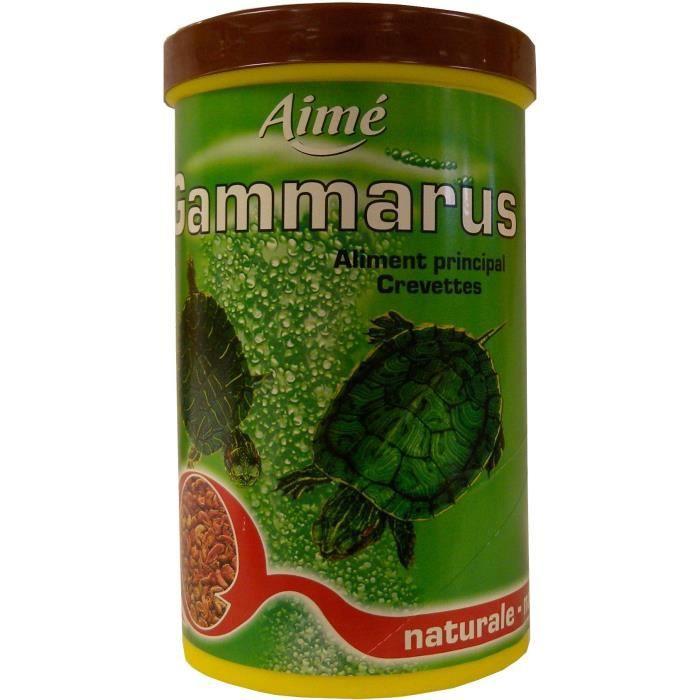 AIME Nourriture pour tortues, crevettes - Aliment complet 100% naturel - 500 ml