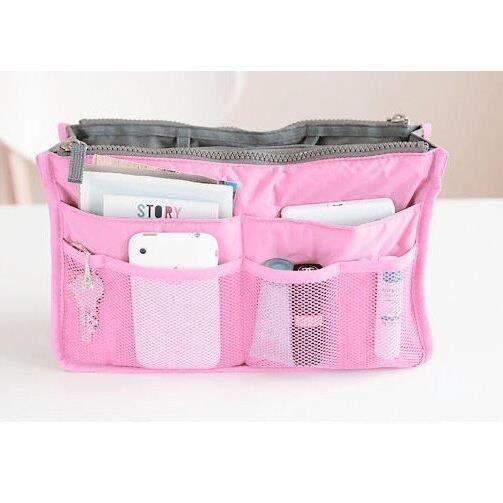 Nécessaire esthéticienne voyage vanité Necessaire femmes beauté trousse de toilette maquillage sac cosmétique dans - Pink - MIKE2158