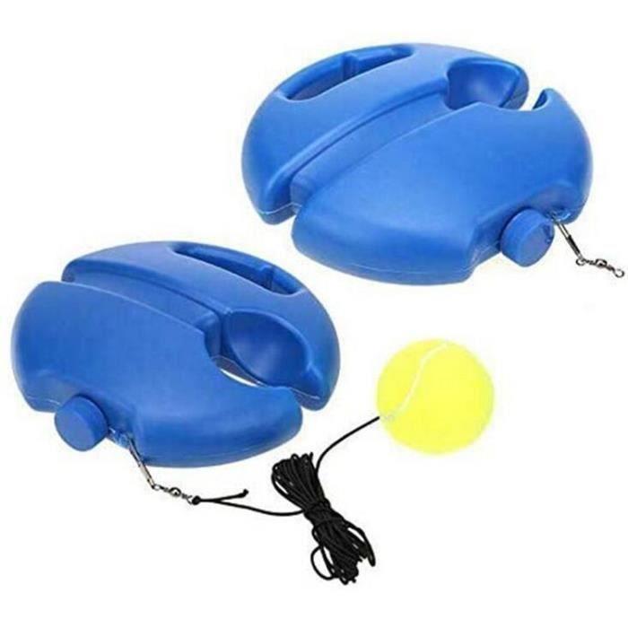 1Pc Formation de Tennis Rebond Balle Tennis Équipement de Pratique Machine de Balle de Tennis Équipement Dentraînement Portable