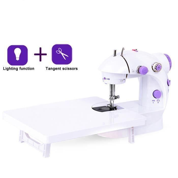 TEMPSA Mini Machine à Coudre Automatique de Fil + Table D'Extension