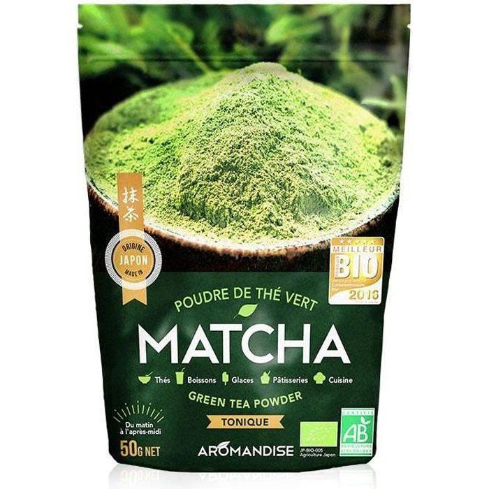 Poudre de thé vert japonais Matcha Bio - Flori…