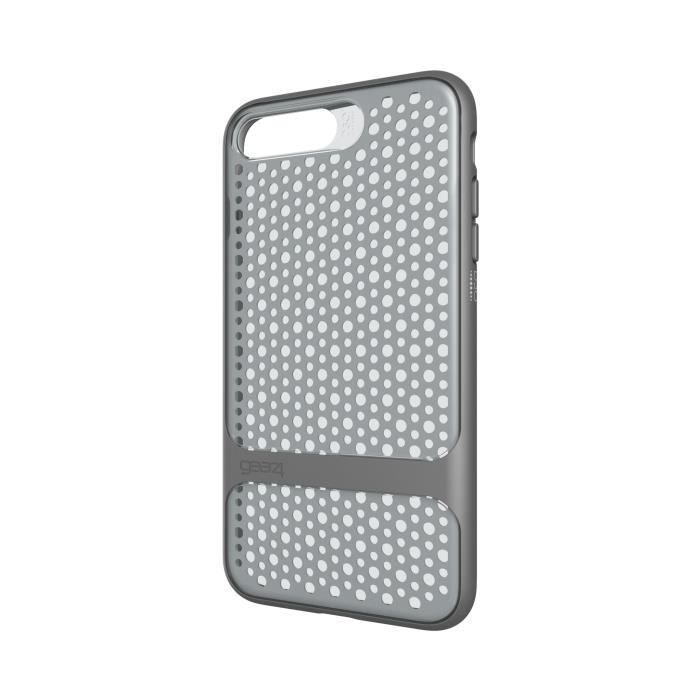 GEAR4 D3O Carnaby Coque - iPhone 7 Plus - Argent