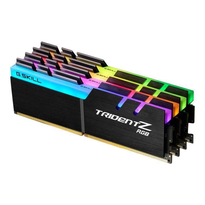 G.SKILL Mémoire PC Trident Z RGB - 32 Go - PC4-32000 / DDR4...