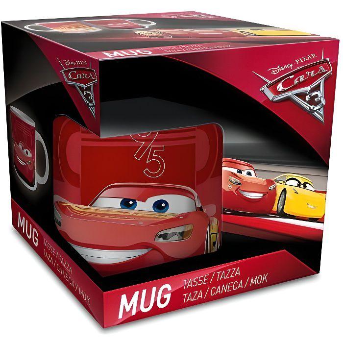 Tasse Mug Cars 3 Disney Pixar - Modèle Aléatoire - Flash Mc Queen Cadeau Anniversaire Garcon Voiture - 463