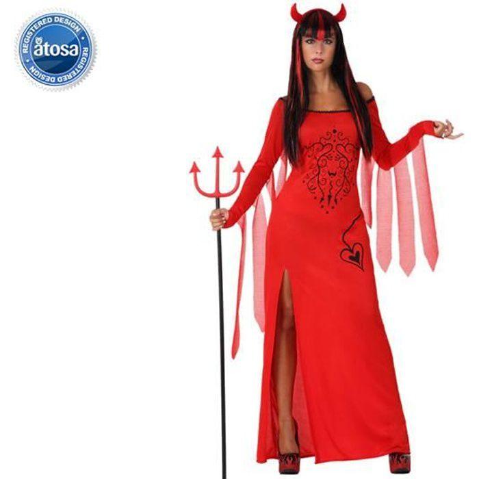 Déguisement femme Demon Hallowee...
