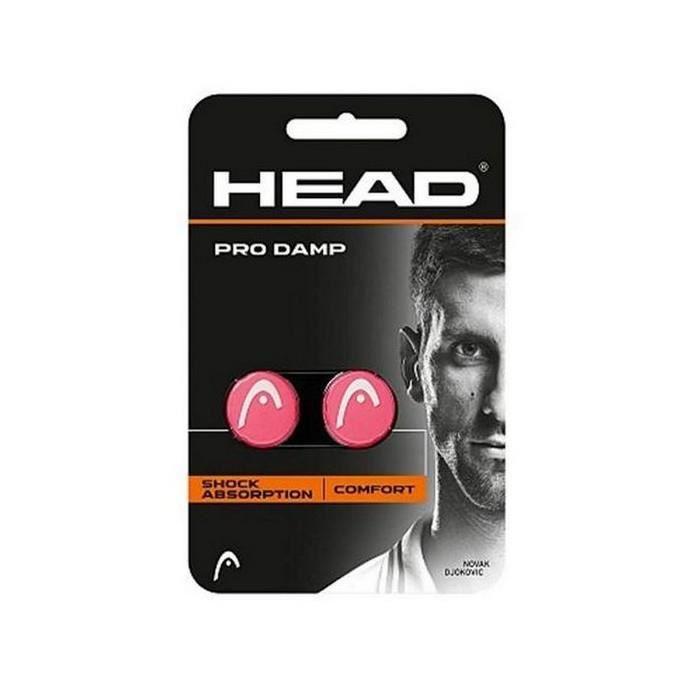 Accessoires de tennis et de padel Distingue antivibrateur head pro damp silicone rose