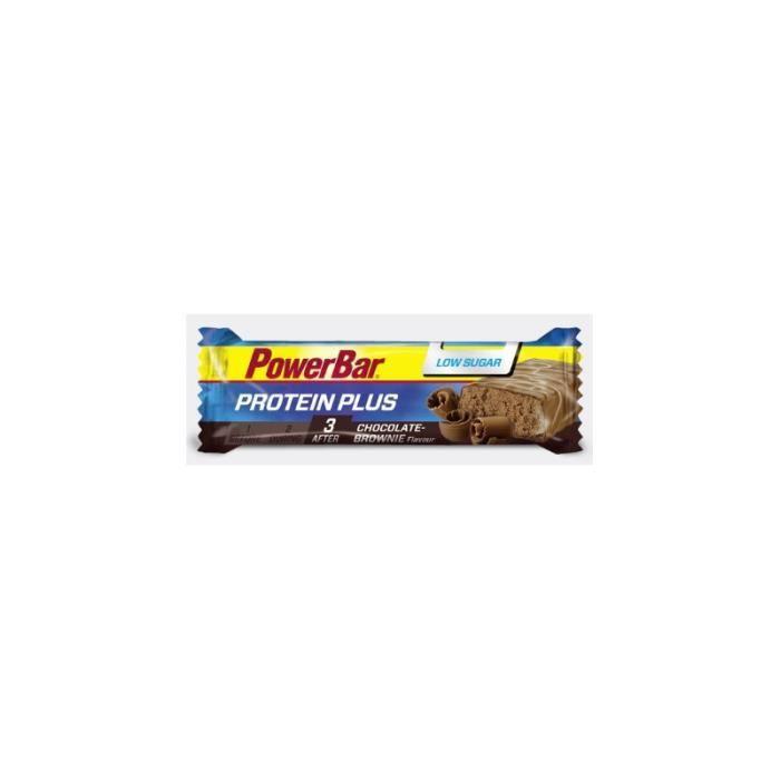 Barre Protein Plus Low Sugar PowerBar 35g Chocolat Brownie