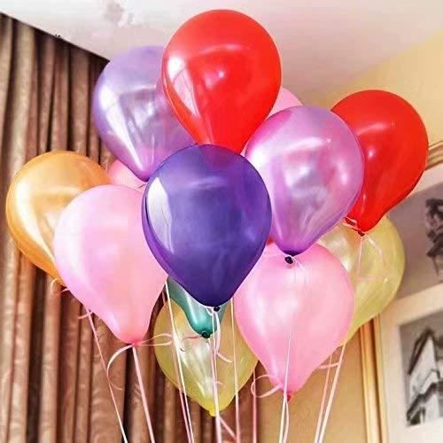 #Mélangeur#100pcs Sachet de 100 Ballons Nacr&eacutes Perle Latex&ndash10pouces Ballons D&eacutecoration pour Anniversaire