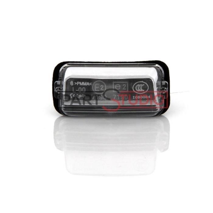 Feu de plaque arrière droit - gauche Certifié Peugeot 206 divers modèles voir détail PHARES - FEUX - REPETITEUR LATERAL -