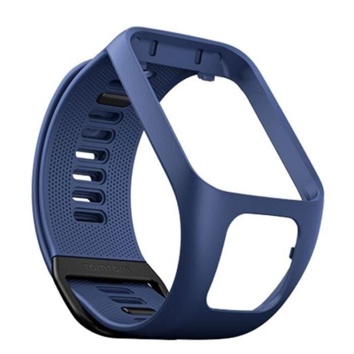 TOMTOM Bracelet Large Bleu Marine Montre Spark 3
