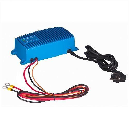 Chargeur de batterie au plomb et lithium-ion 12V étanche (IP67) Victron Blue Power (Ampérage : 7 A)
