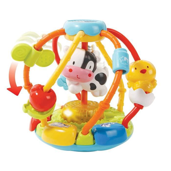 VTech 80-502904 - COMMUTATEUR KVM - Baby 80?502904 ? Monde de préhension Multicolores