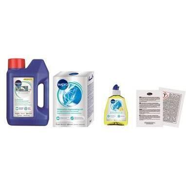 WPRO DWK101/2 - Pack pour lave vaisselle 2 mois
