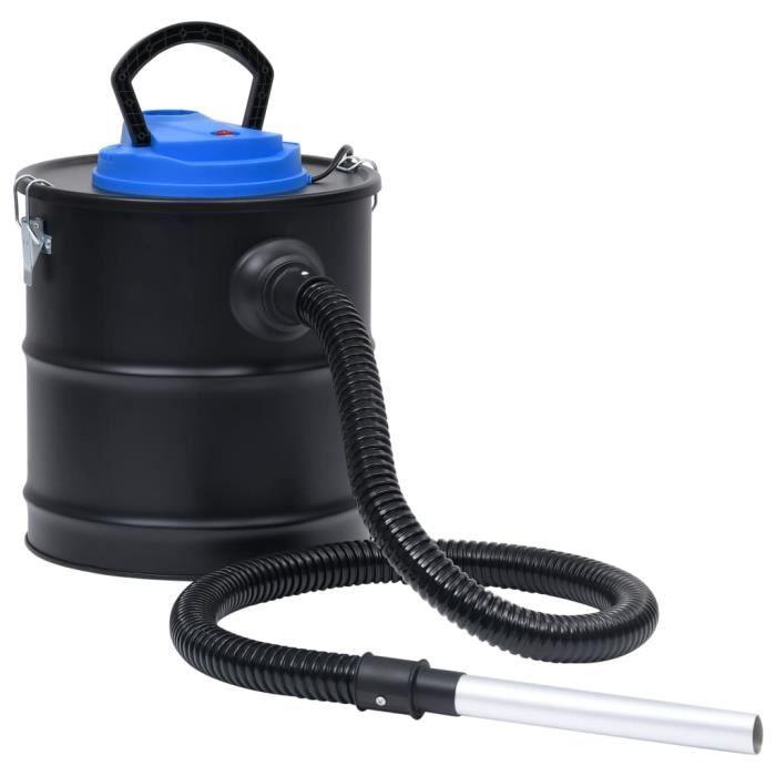Aspirateur à cendres avec filtre HEPA 1200 W 20 L Acier HB021