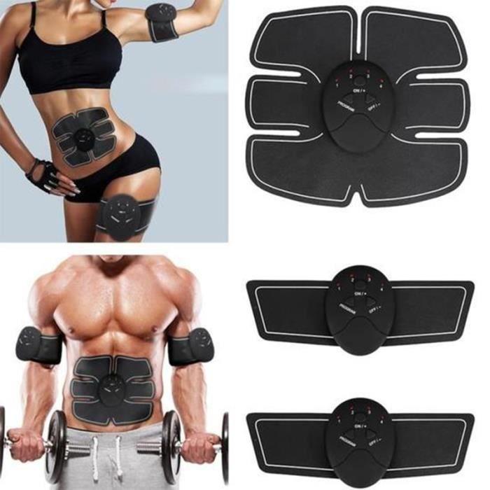Nouveau Pack De 6 EMS formateur abdominale tonifiant muscle Toner ABS Smart EMS Fitness Ceinture