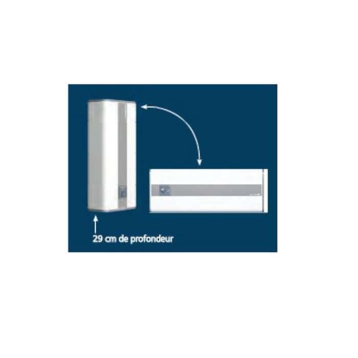 Chauffe Eau Electrique Plat Lineo 40l H765l490p290 Atlantic