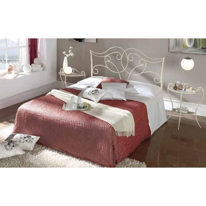 t te de lit en fer forg mod le paris achat vente. Black Bedroom Furniture Sets. Home Design Ideas