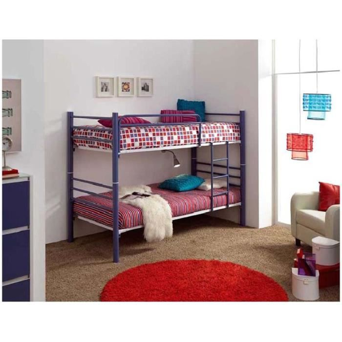 lit superpos en fer forg mod le 410 achat vente. Black Bedroom Furniture Sets. Home Design Ideas