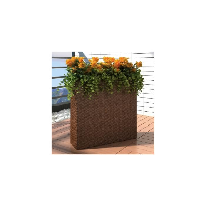 1 bac rectangle pot de fleurs achat vente jardini re for Vente par correspondance de fleurs