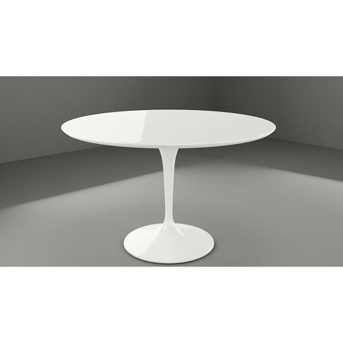 table tulipe blanche inspir e eero saarinen achat vente table basse table tulipe blanche. Black Bedroom Furniture Sets. Home Design Ideas