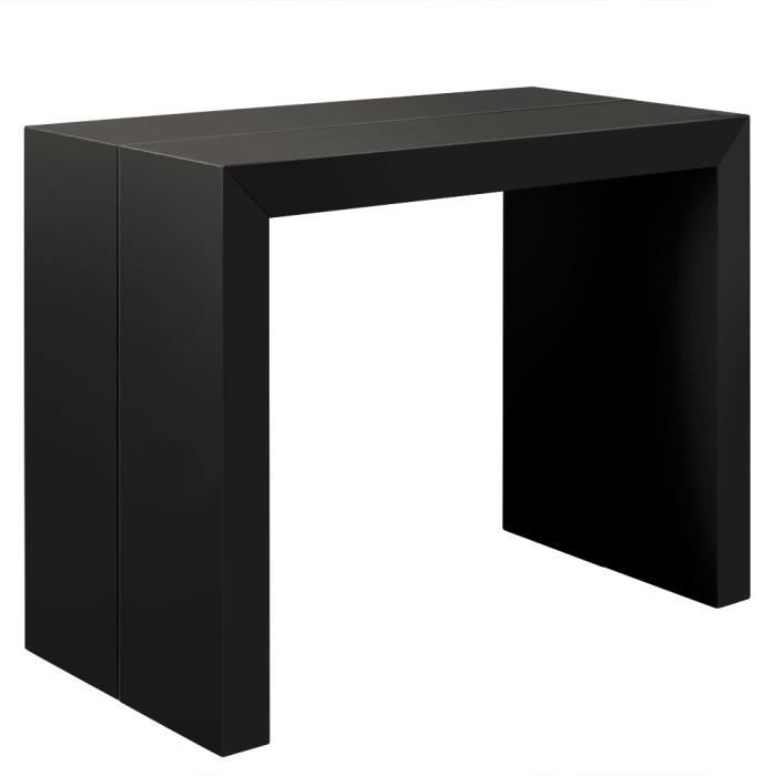 table a rallonge console maison design. Black Bedroom Furniture Sets. Home Design Ideas