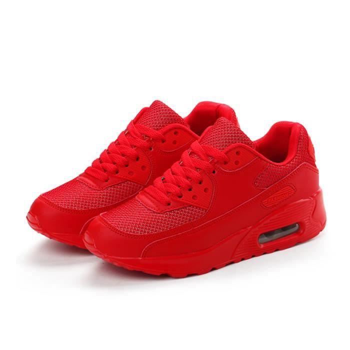 Basket Femme Chaussures de course KIANII® Rouge