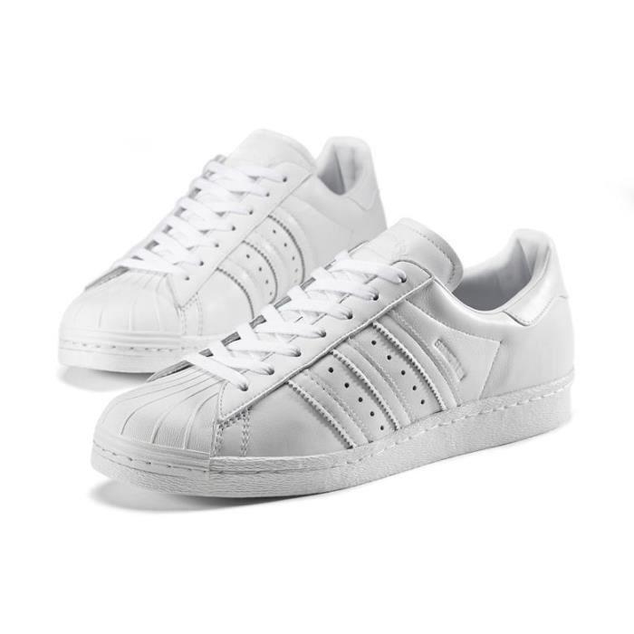 adidas superstar blanches