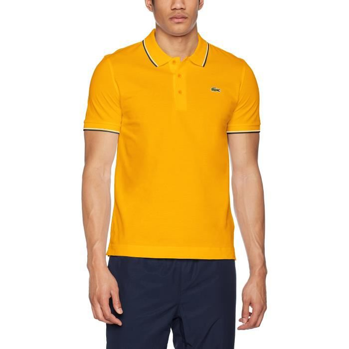 Noir Lacoste Vente Achat Pour M Taille Homme Polo 1bss24 xrqOwYPx