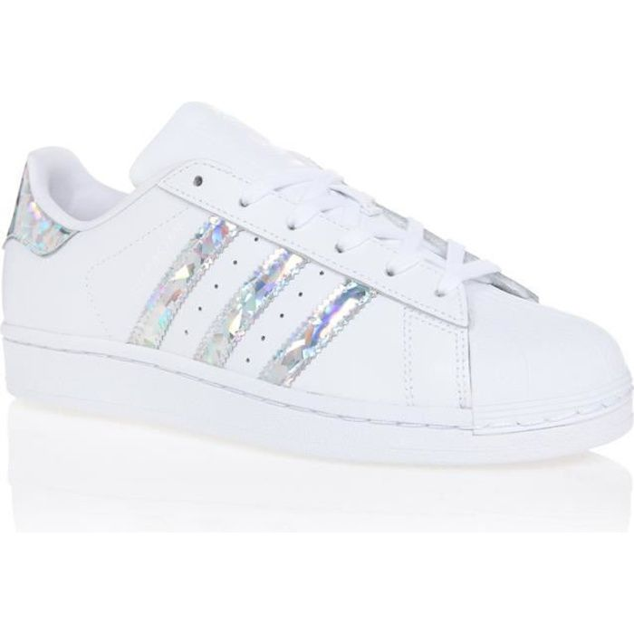 Adidas superstar argent