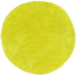 tapis rond jaune fluo design papilio 70 x 70 achat. Black Bedroom Furniture Sets. Home Design Ideas