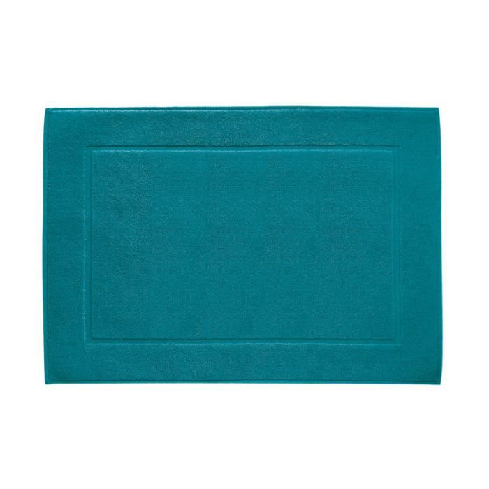 tapis de bain ponge 50x70 cm turquoise achat vente tapis bain cdiscount. Black Bedroom Furniture Sets. Home Design Ideas