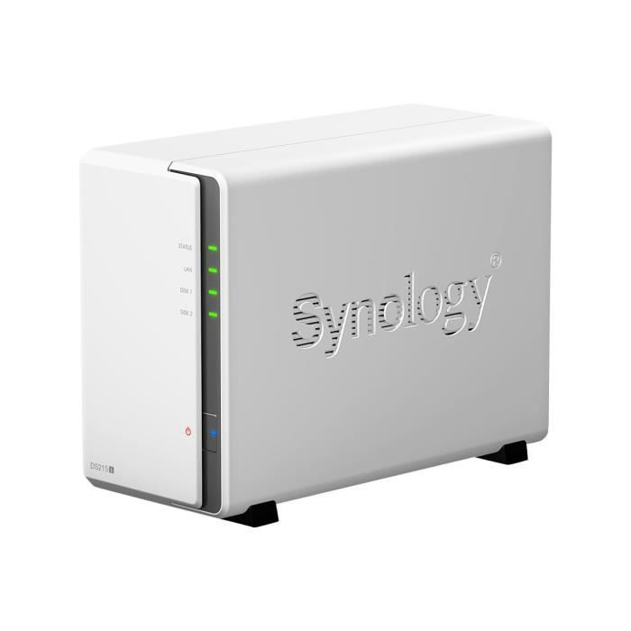 SERVEUR STOCKAGE - NAS  Synology Disk Station DS215j Serveur NAS 2 Baies 4