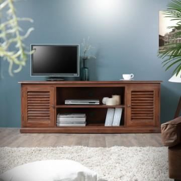 meuble de t l en acajou 150 loggia achat vente meuble. Black Bedroom Furniture Sets. Home Design Ideas
