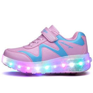 led heelys chaussures enfant a roulettes achat vente pas cher cdiscount. Black Bedroom Furniture Sets. Home Design Ideas