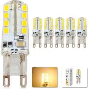 AMPOULE - LED Elinkume Ampoule Spot LED 5X G9 2.5W Blanc Chaud 3