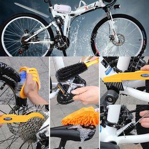 Kit de nettoyage pour chaîne de vélo outil d/'entretien pour vélo VTT