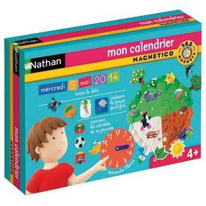 JEU D'APPRENTISSAGE NATHAN - Mon Calendrier Magnétique