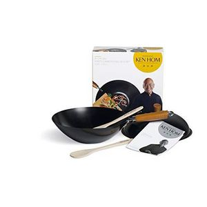 POÊLE - SAUTEUSE Ken Hom DKB Household UK Ltd 5 Pièces - 31 cm-Acie