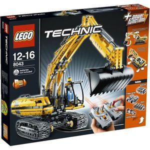 ASSEMBLAGE CONSTRUCTION Lego La Pelleteuse Motorisée