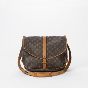 4b285e18b75 BESACE - SAC REPORTER Louis Vuitton - Besace - Monogram Canvas Brown - 2 ...