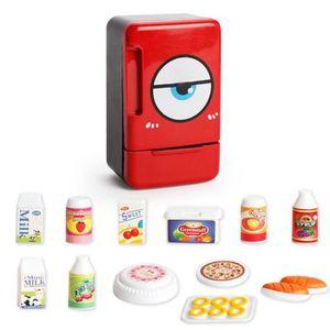 DINETTE - CUISINE Mini Simulation Réfrigérateur Appareils Jouets Béb
