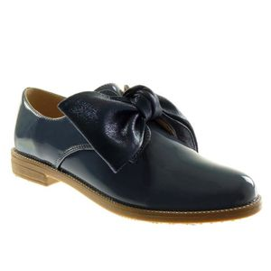 DERBY Angkorly - Chaussure Mode Derbies femme noeud vern