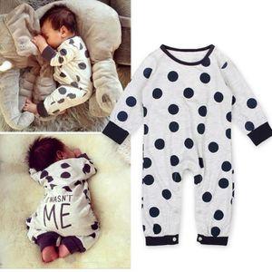 PYJAMA 0-24 Mois Bébé Fille Garçon Pyjama à Pois Unisexe