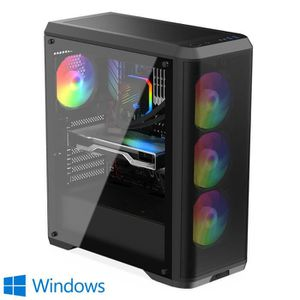 UNITÉ CENTRALE  PC Gamer, Intel i5, GTX1650, 2To HDD, 16 Go RAM, W