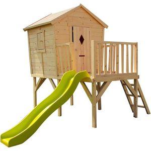MAISONNETTE EXTÉRIEURE Cabane en bois pour enfant  MORGANE